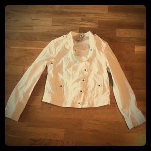 New with tags Anthropologie khaki jacket size 8